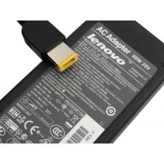 Fonte Notebook Lenovo 20V - 4.5A 90W Plug retangular