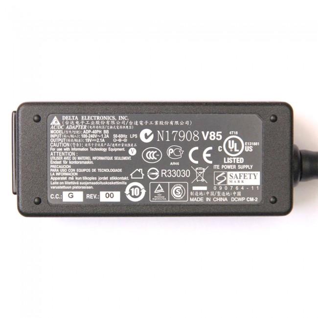 Fonte para Notebook Toshiba Mini, Itautec 19V. 2,1A 40W