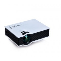 Projetor Portatil 1200 Led Lumens - Hdmi Vga Av Sd Usb Branco