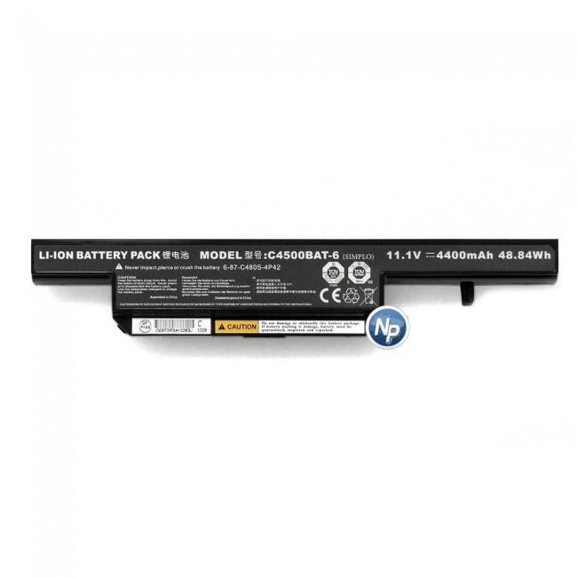 Bateria Notebook Itautec W7425, W7535, 7550 C4500BAT-6 11.1V 4400mAh