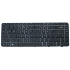 Teclado Notebook HP DM4/ DV5-2000 2100 BR preto